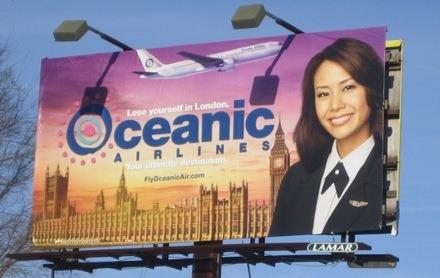 Oceanic Airlines Billboards