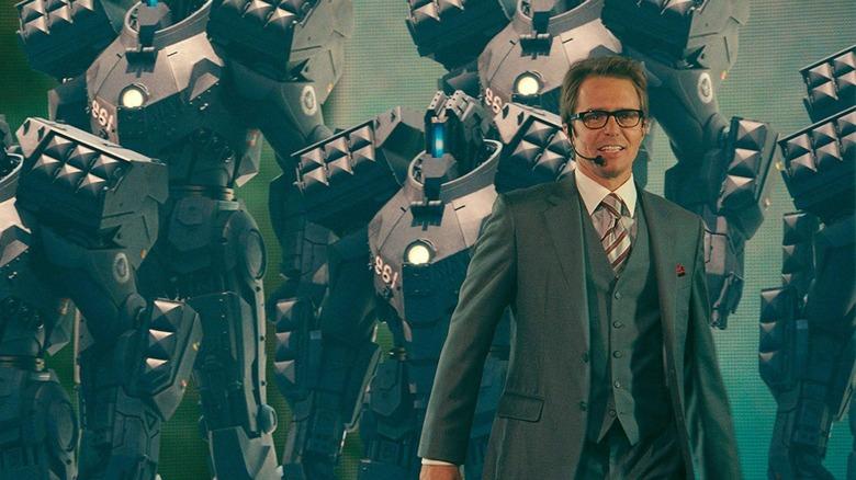 Sam Rockwell in Iron Man 2