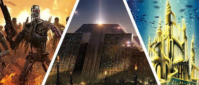 Pablo Olivera Blade Runner and Terminator Prints, Ben Harman's Disney Dreamlands