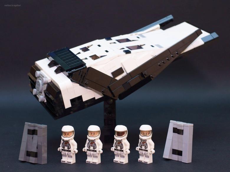 Interstellar Lego model