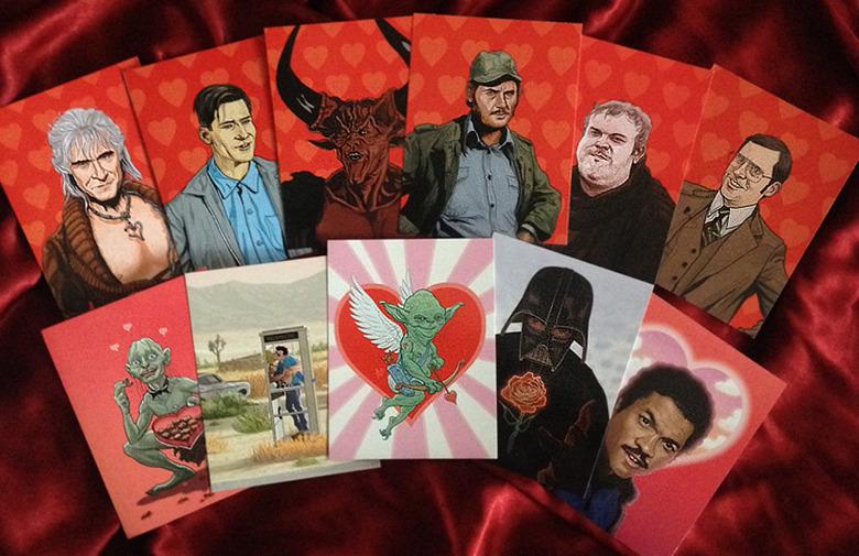 2015 Geektastic Valentine's Day cards