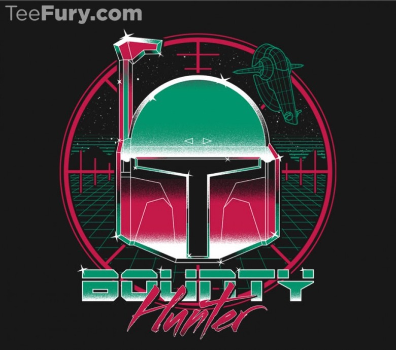Bounty Hunter 80's t-shirt