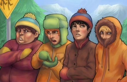 south park kids real