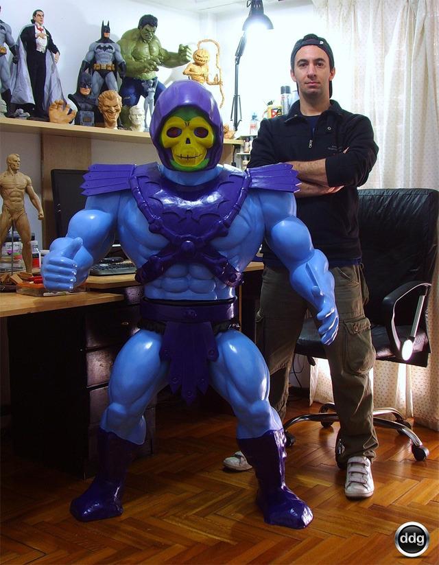 Giant Skeletor Toy-Replica
