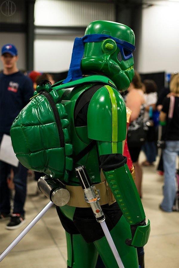 Teenage Mutant Ninja Stormtrooper