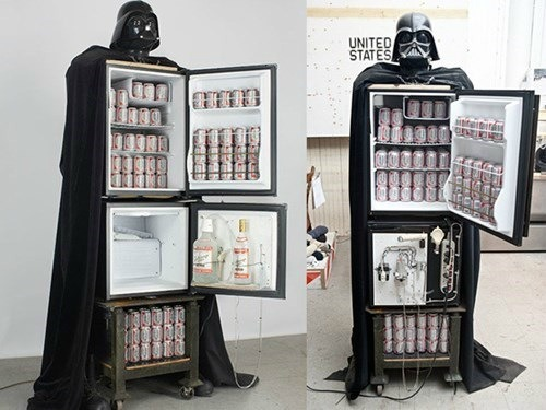 Darth Vader Booze Fridge Takes Your Liver to the Dark Side