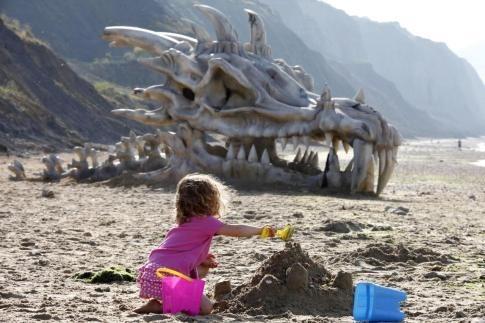 Giant Dragon Skull Found on Dorset Beach Celebrates 'Game of Thrones'