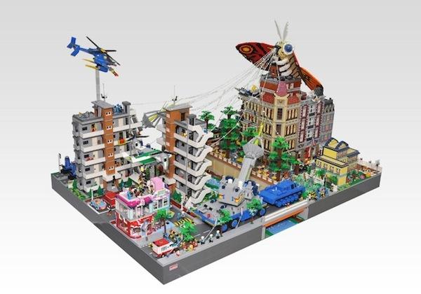 LEGO Mothra