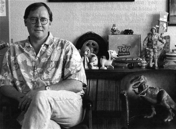 John Lasseter and his real childhood toys that served as inspiration for Toy Story
