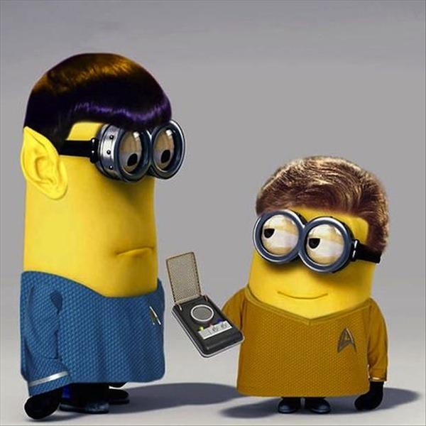 Despicable Me Minions: Star Trek Style