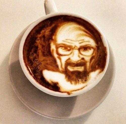 Breaking Bad latte