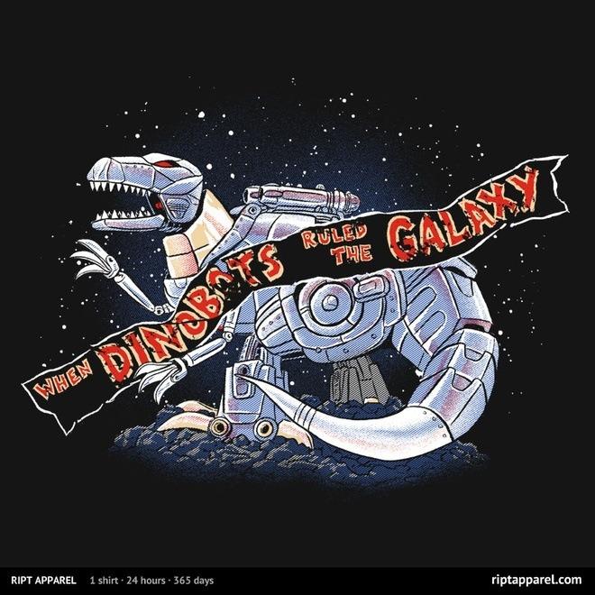 "Jurassic Park/Transformers-inspired design ""Jurassic Spark"""