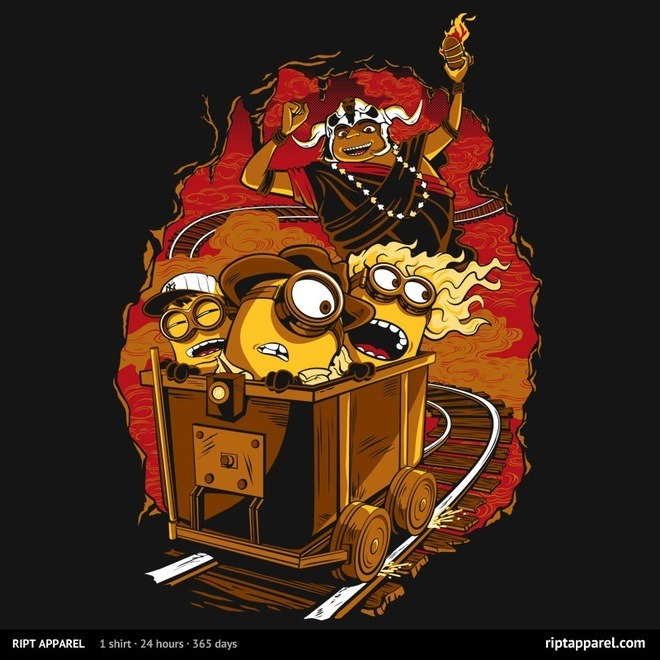 Indiana Jones and the Temple of Doom/Despicable Me