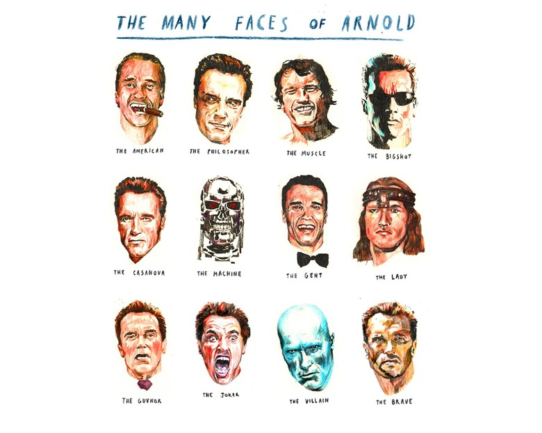 faces of arnold