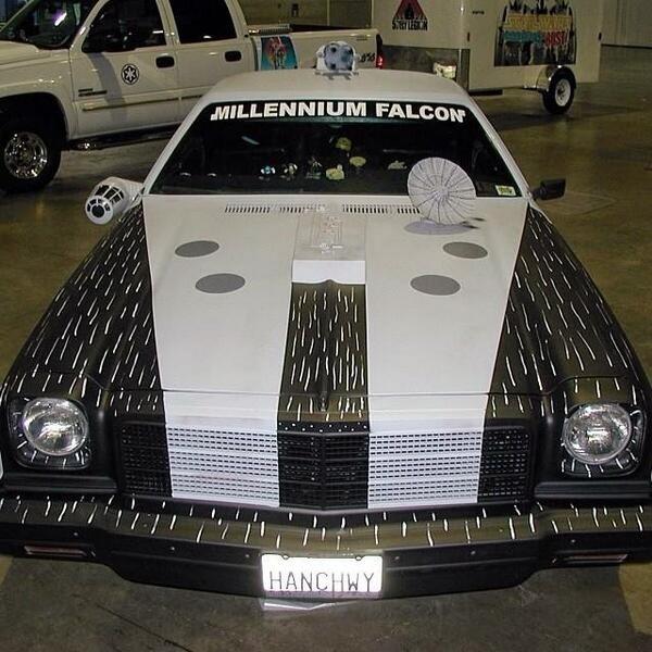Millennium Falcon car