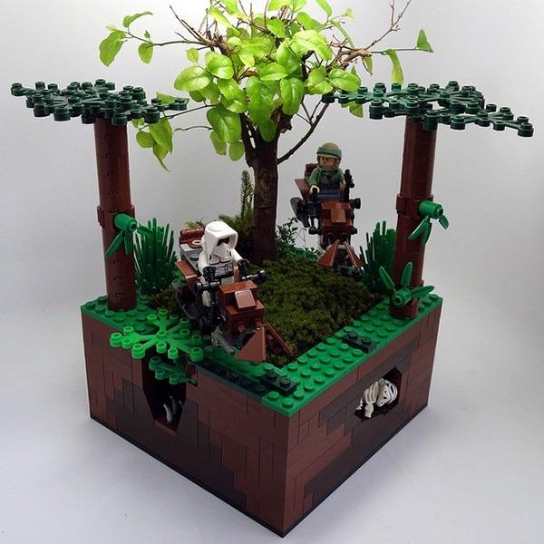 LEGO Flower Pots