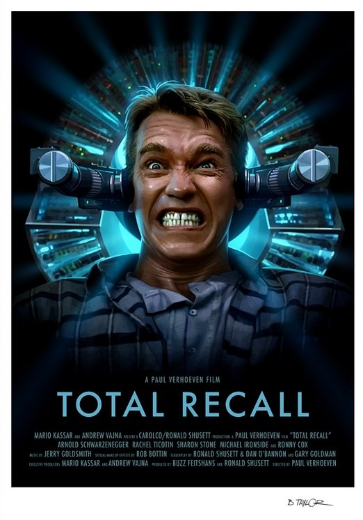 Candy Killer's Total Recall poster