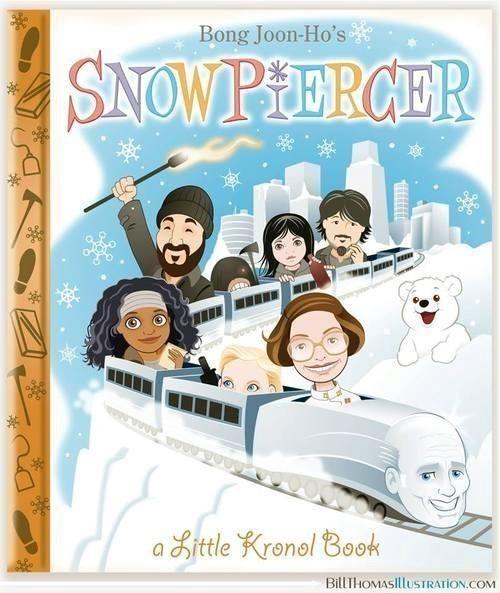 Snowpiercer as a kids book