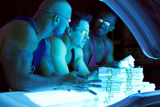 Pain and Gain tanning