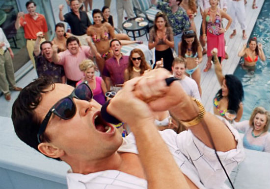 Wolf of Wall Street Poster header