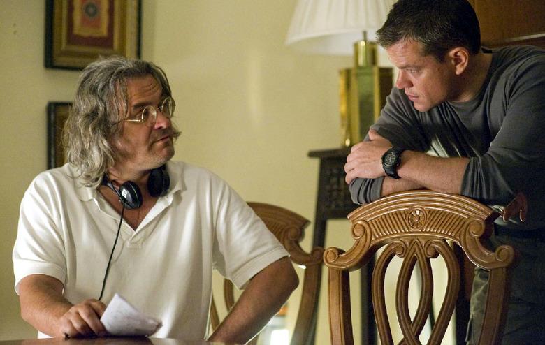 Paul Greengrass directing Green Zone