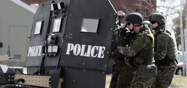 Peace Officer trailer