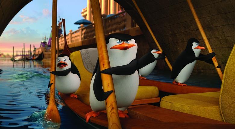 Penguins of Madagascar footage