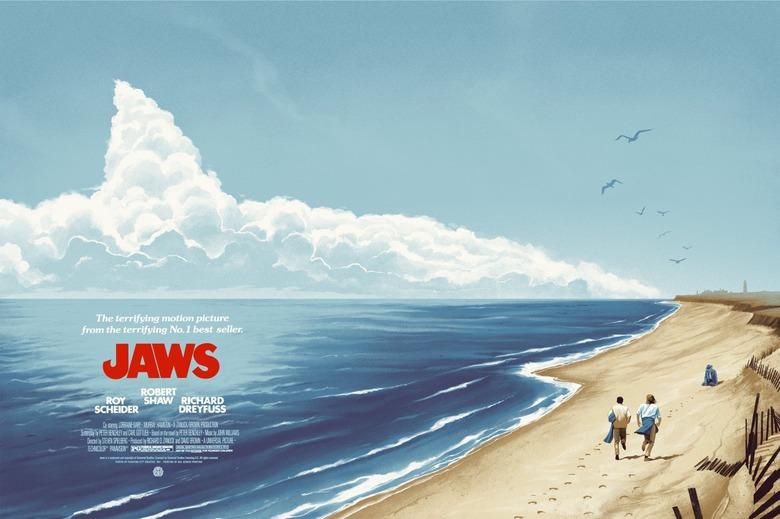 Phantom City Creative's Jaws poster print