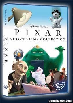 Pixar Short Film DVD