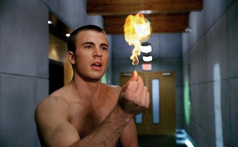 Human Torch Michael B Jordan