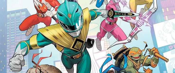 Power Rangers and Teenage Mutant Ninja Turtles Crossover Comic