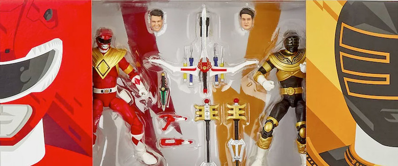 Power Rangers Comic-Con exclusive action figures