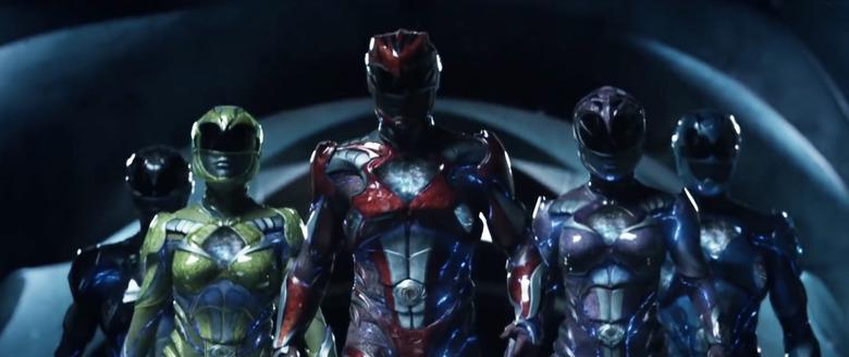 Power Rangers Opening Credits Mash-Up