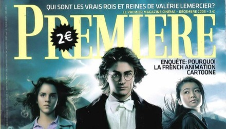Premiere Magazine France Harry Potter