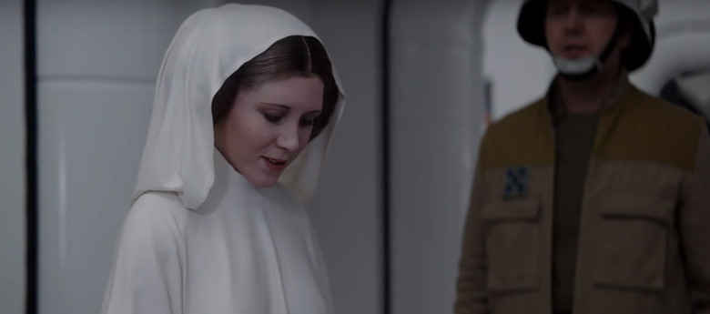 Princess Leia Visual Effects in Rogue One