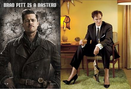 basterds poster tarantino heels