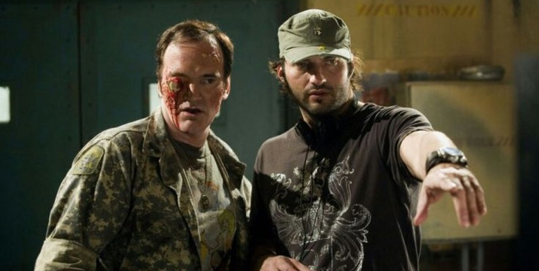 quentin tarantino and Robert rodriguez read kill bill script