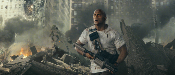 rampage box office tracking