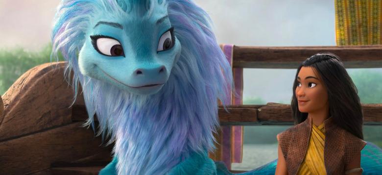 raya and the last dragon blu-ray