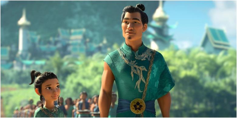 raya and the last dragon cut storylines