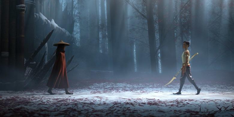 raya and the last dragon fight scenes