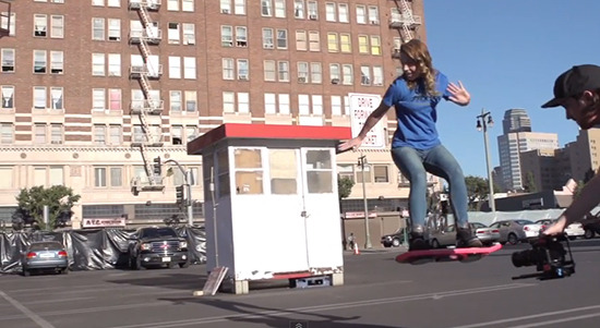 Real Back to the Future II Hoverboard