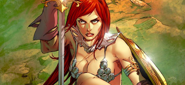 red sonja movie on hold