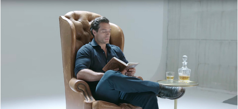 henry cavill reads the witcher