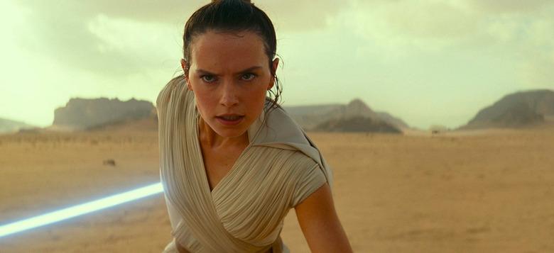 Rey in The Rise of Skywalker