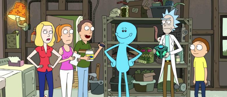 Rick and Morty Meeseeks