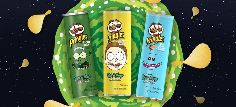 Rick and Morty Pringles