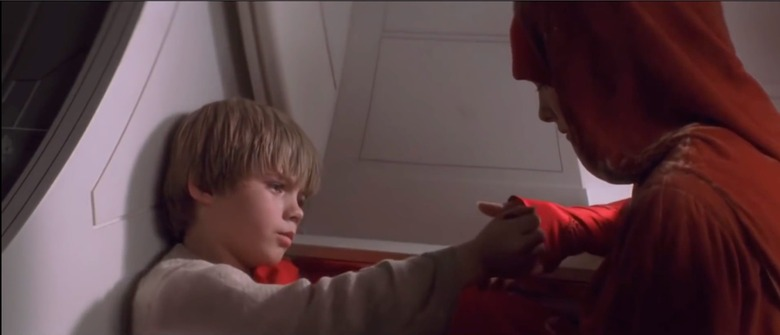 Anakin Gives Padme A Japor Snippet