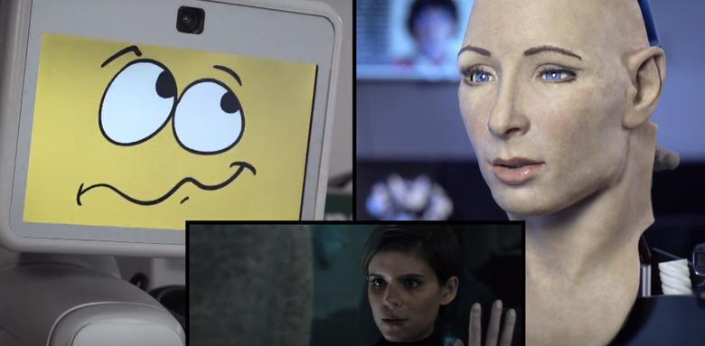Robots React to the Morgan Trailer