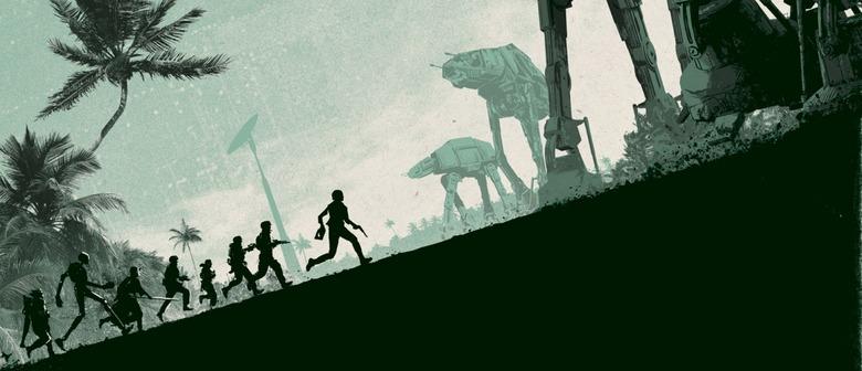 Rogue One print by Matt Ferguson
